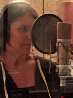 2015 Julie recording with Fly boys (Dads pics)